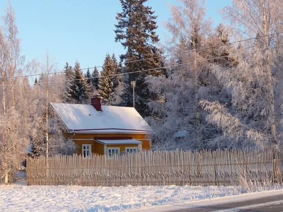 talo-talvella