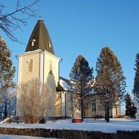 Hämeenkyrön kirkko talvella